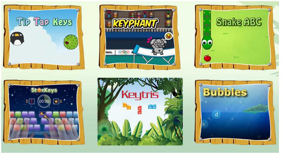 free keyboard games