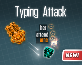 typing attack game